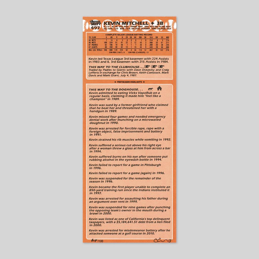 Postseason Highlights (detail)